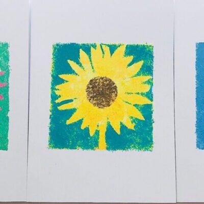 Flower Cards Set